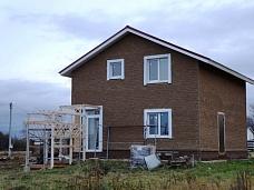 Продам  новый жилой дом в д.Поповское Дми