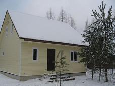 Новый  зимний дом