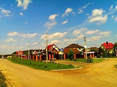 Деревня  Талаево, участок у озера Сенеж
