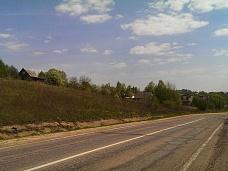 Деревня  Редино, участок у озера Сенеж