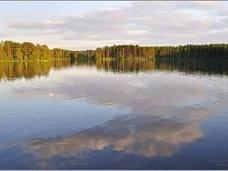 Участок  27 с. на берегу озера Полянское
