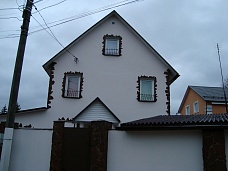 Коттедж  трехэтажный в Клину