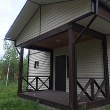 Зимний  дом в пг Рощино, СНТ Антракт