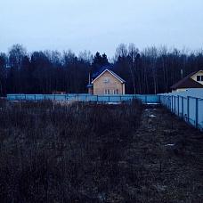 Земельный  участок в д. Дубровки