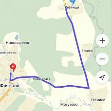 Живописное  село Рязанцы