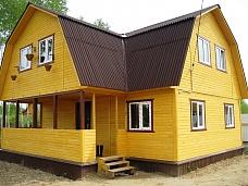 Новая  двухэтажная дача на участке 15 сот