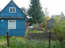 Дача  с каркасно-щитовым домом