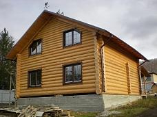 Дом  рубленый в Ланьшино