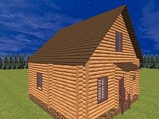 Дом  рубленый в Горелово