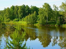 Участок  под КФХ около озера