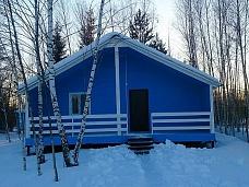 Новый  дачный дом в садовом товариществе