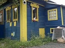 Часть  дома  с земельным участком в дерев