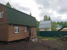 Новый  дачный дом в СНТ Русь