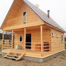 Дом  100м2 на 6сотках 30км от города