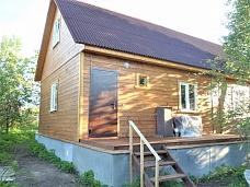 Дом  с участком в С-Пб по цене комнаты.