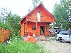 Дом   на Ладоге с пропиской в 2этажа