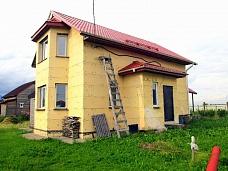 Новый  коттедж в п.Аннино 7 км от СПБ