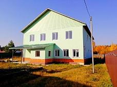 Дом  350м2 на у-ке 7,5 сот., в д.Огуднево