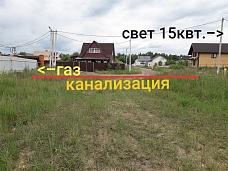 8  сот. ИЖС, д.Шарапово, КП  Лужайкино -2