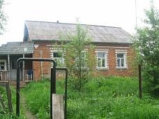 Кирпичный  дом в деревне