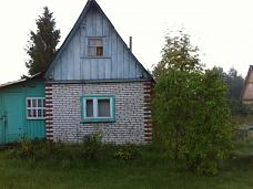 Дача  с кирпичным домом