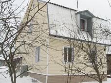 Зимний  дом из кирпича