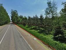 Земельный  участок 1Га, в районе д.Маслово, 25км от МКАД, Ильинское шоссе