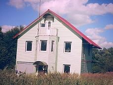 Отличный  дом на берегу Оредежа