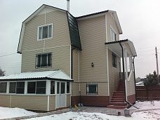 Дом  220кв.м. вблизи п. Михнево