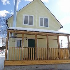 Дом  из бруса 150 м2 в деревне Базарово