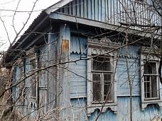 Старый  дом на Можайском водохранилище
