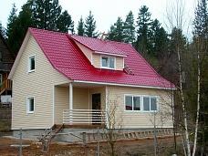 Дом  в стиле кантри - просто и красиво.