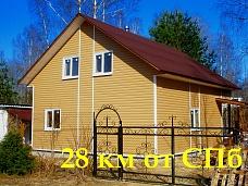 Зимний  дом у озера Зеркальное, 9 соток