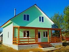Зимний  дом с солнечной террасой. Куйвози