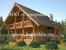 Деревянное  домовладение